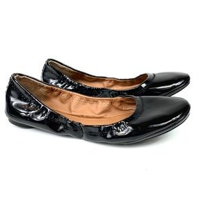 Lucky Brand Erin patent leather ballet flats 9.5